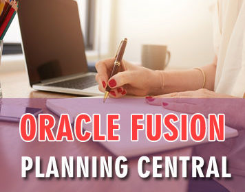 Oracle Fusion Planning Central Online Training Course