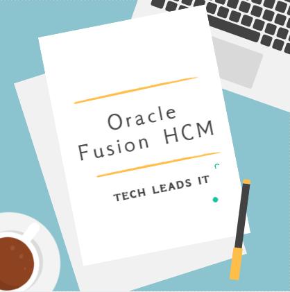 Fusion HCM 19th Batch