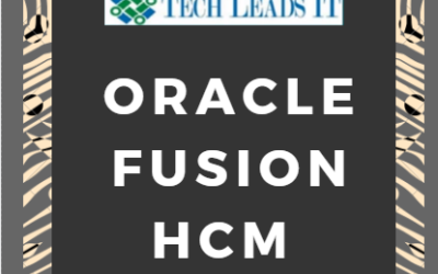 Fusion HCM 22nd Batch@01-12-2018