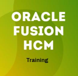 Fusion HCM 31st Batch@31-08-2020